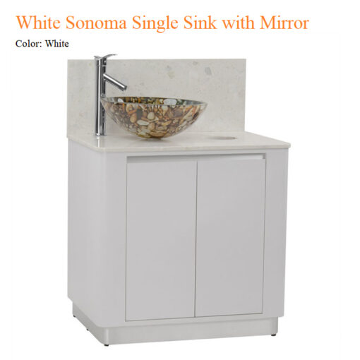 Bồn Tủ Rửa Mặt White Sonoma