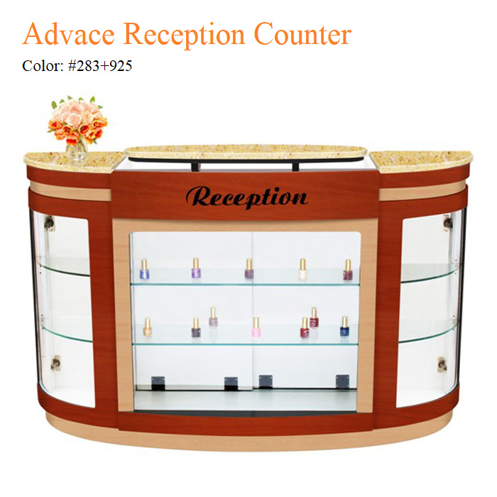 Advace Reception Counter – Yellow Marble