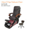 Fior II Spa Pedicure Chair with Magnetic Jet – Shiatsulogic Massage System