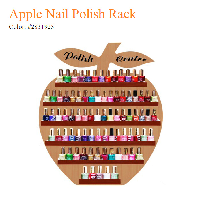 Apple Nail Polish Rack