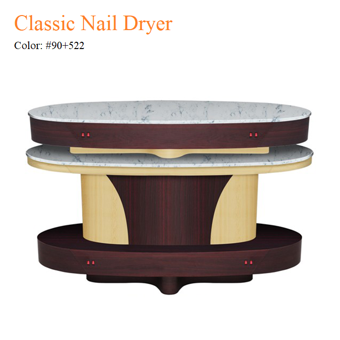 Classic Nail Dryer – White Stone Top