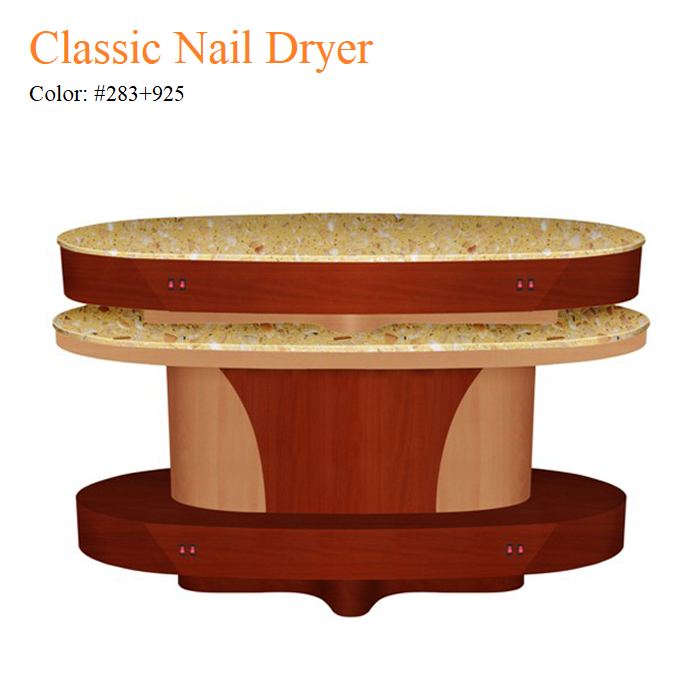 Classic Nail Dryer – Yellow Marble