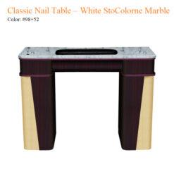 Classic Nail Table – White Stone Marble 01 247x247 - Equipment nail salon furniture manicure pedicure