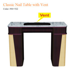 Classic Nail Table with Vent – White Stone Marble 01 247x247 - Equipment nail salon furniture manicure pedicure