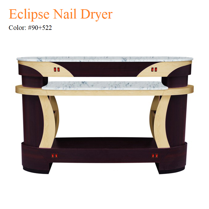 Eclipse Nail Dryer – White Stone Top