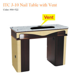 ITC J 10 Nail Table with Vent – White Stone Marble 01 247x247 - Equipment nail salon furniture manicure pedicure