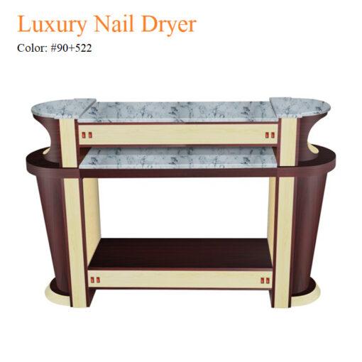 Luxury Nail Dryer – White Stone Top