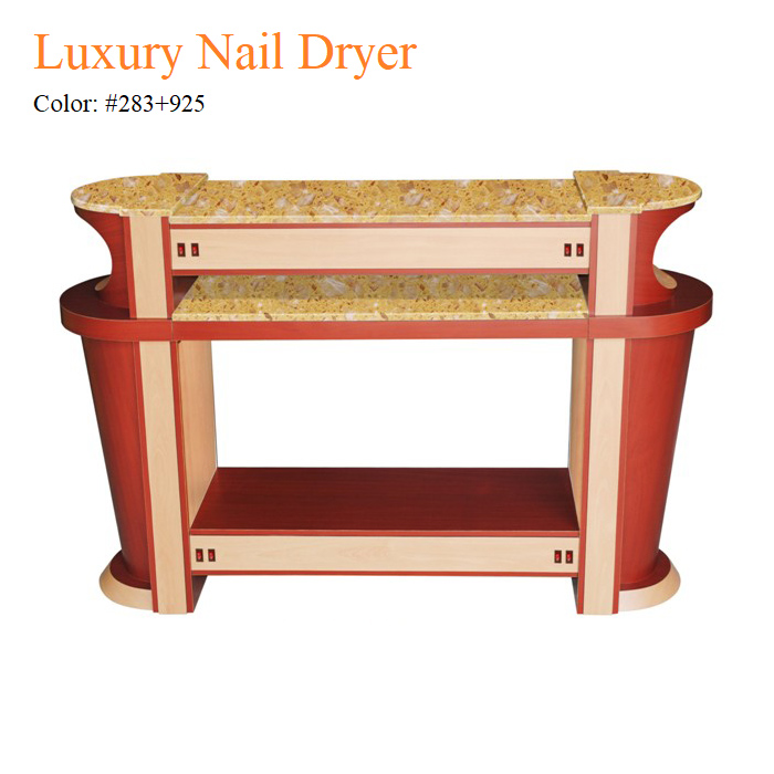 Luxury Nail Dryer – Yellow Marble