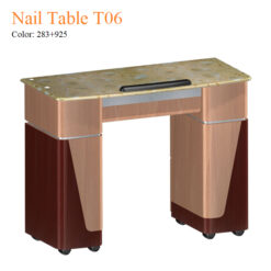 Nail Table T06 – Yellow Marble 01 247x247 - Equipment nail salon furniture manicure pedicure