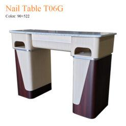 Nail Table T06G – White Stone Top 03 247x247 - Equipment nail salon furniture manicure pedicure
