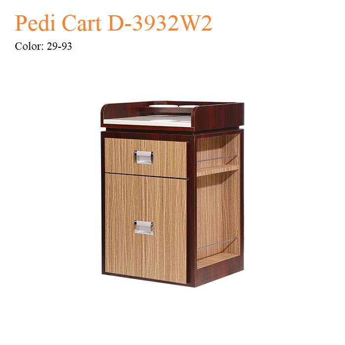Pedi Cart D-3932W2 – White Marble