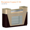 Reception Counter C-06 – Yellow Marble