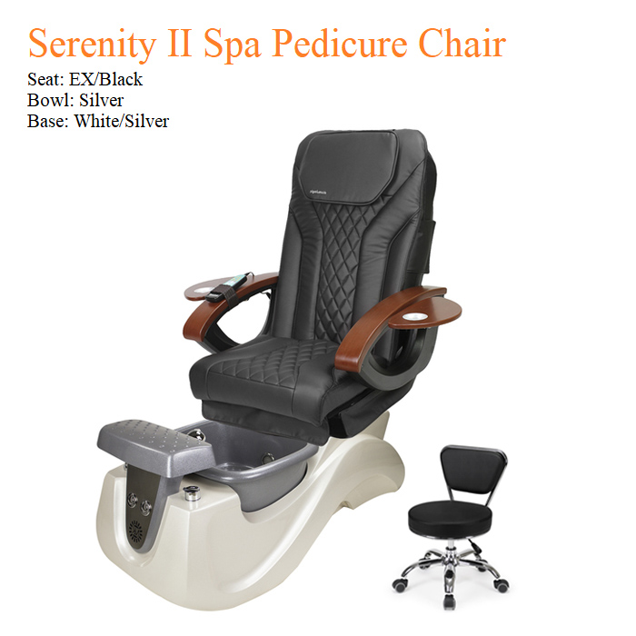 Serenity II Spa Pedicure Chair with Magnetic Jet – Shiatsulogic Massage System