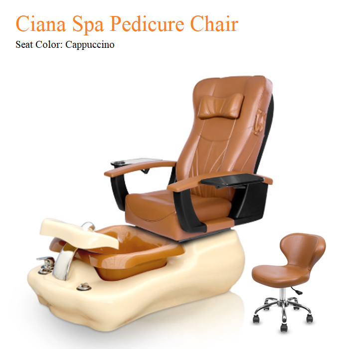Ciana Spa Pedicure Chair with Magnetic Jet – Shiatsulogic Massage System
