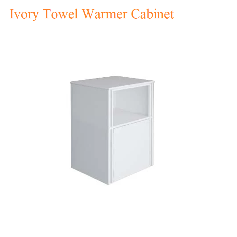 Ivory Towel Warmer Cabinet – 26 inches