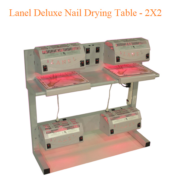 Lanel Deluxe Nail Drying Table – 2X2