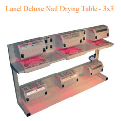 Lanel Deluxe Nail Drying Table – 3×3