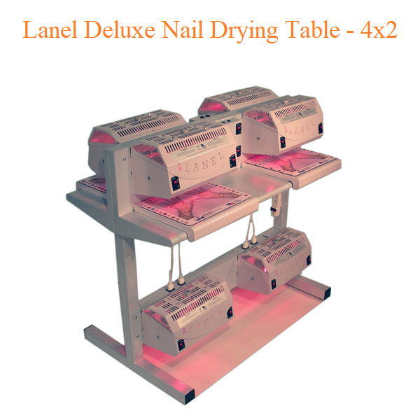 Lanel Deluxe Nail Drying Table – 4×2