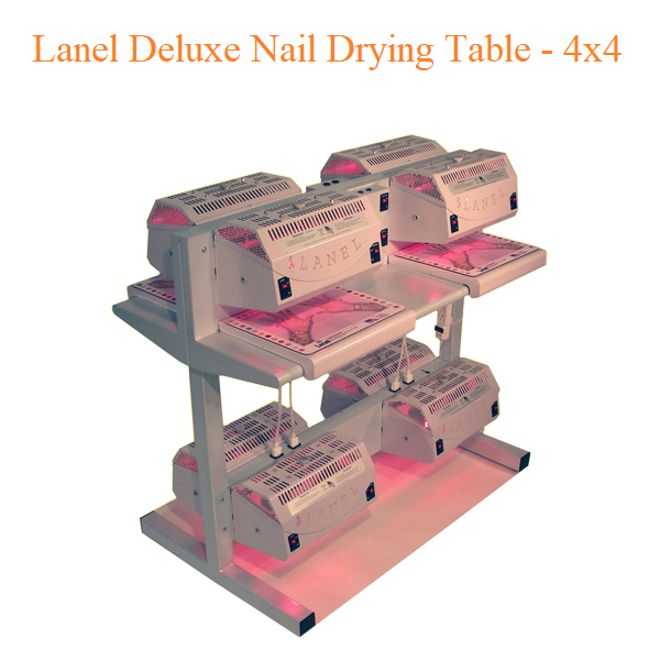 Lanel Deluxe Nail Drying Table – 4×4