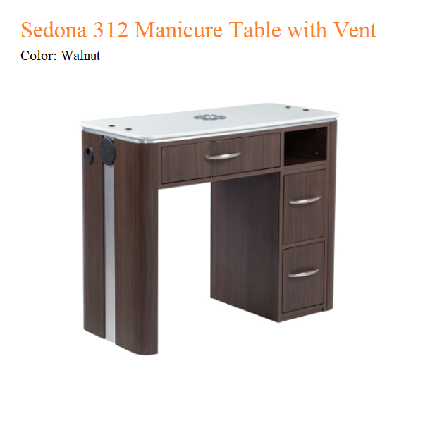 Sedona 312 Manicure Table with Vent