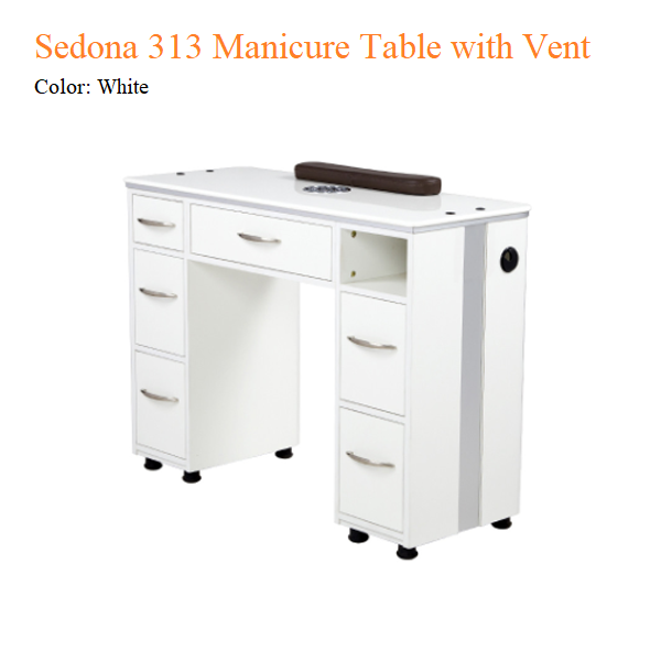 Sedona 313 Manicure Table with Vent