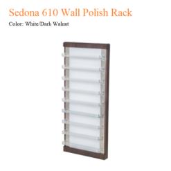 Sedona 610 Wall Polish Rack 2 247x247 - Thiết bị đồ nội thất tiệm nail làm móng tay móng chân
