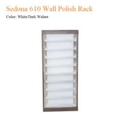Sedona 610 Wall Polish Rack 3 247x247 - Thiết bị đồ nội thất tiệm nail làm móng tay móng chân