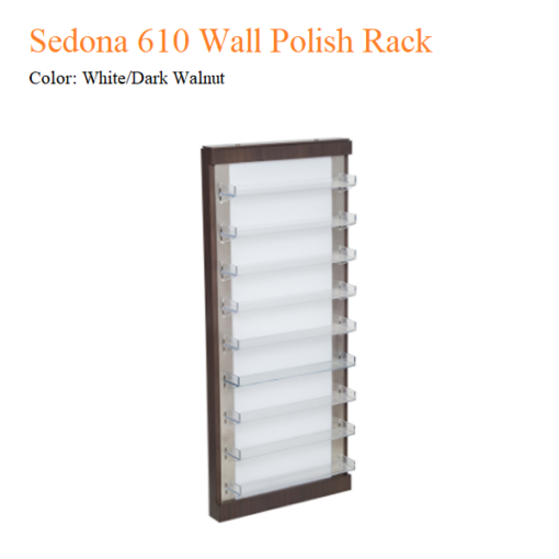 Sedona 610 Wall Polish Rack