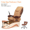 Uniq Spa Pedicure Chair with Magnetic Jet