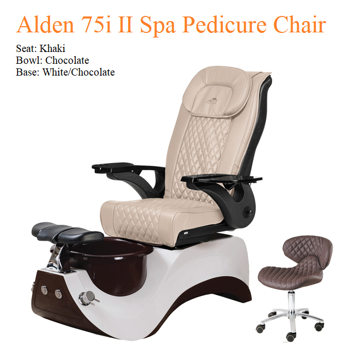 Alden 75i II Luxury Spa Pedicure Chair with Magnetic Jet – High Quality
