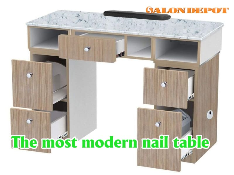 The most modern nail table - 2 key points help you to choose suitable nail table