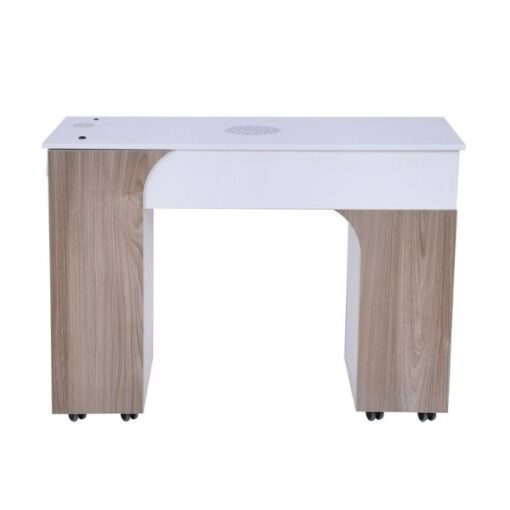Milano Nail Table With Vent Pipe