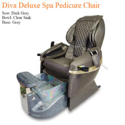 Diva Deluxe Luxury Spa Pedicure Chair with Magnetic Jet – Spacious Seating 1 247x247 - Equipment nail salon furniture manicure pedicure