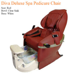 Diva Deluxe Luxury Spa Pedicure Chair with Magnetic Jet – Spacious Seating