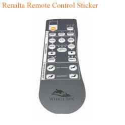 Renalta Remote Control Sticker