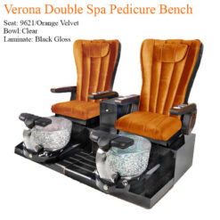 Verona Double Luxury Spa Pedicure Bench with Magnetic Jet Spacious Seating 8 247x247 - Equipment nail salon furniture manicure pedicure