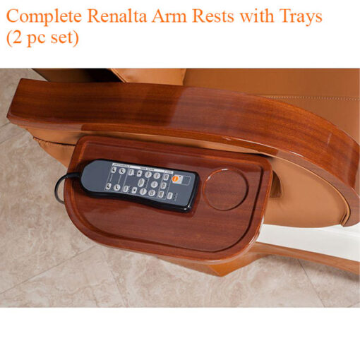 Complete Renalta Arm Rests with Trays (2 pc set)