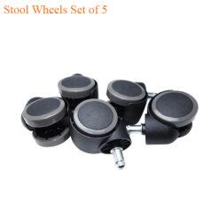 Stool Wheels Set of 5