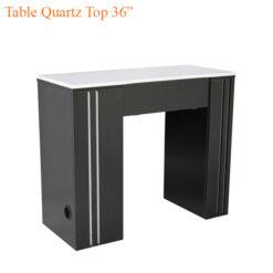 """Table Quartz Top 36"""""""